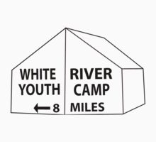 White River Tent Sign One Piece - Long Sleeve
