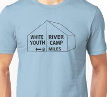 White River Tent Sign Unisex T-Shirt