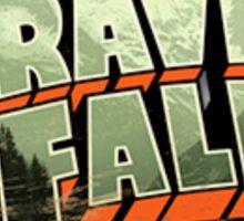 Gravity Falls Logo Sticker