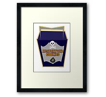 Misfortune Cookies Framed Print