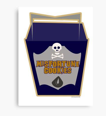 Misfortune Cookies Canvas Print
