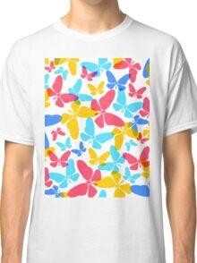 Butterflies pattern Classic T-Shirt