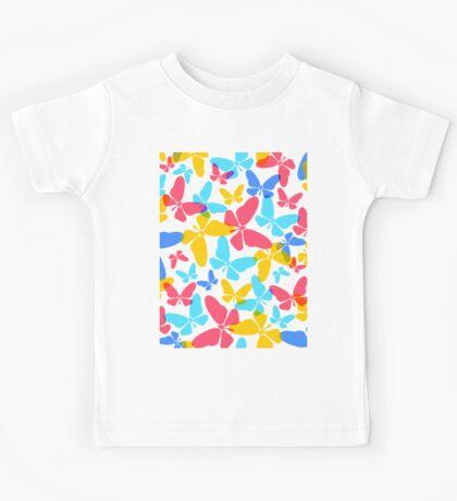Butterflies pattern Kids Tee