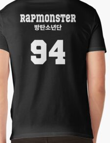 BTS  - Rap Monster Jersey Style Mens V-Neck T-Shirt