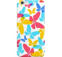 Butterflies pattern iPhone Case/Skin