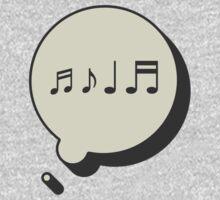 MUSIC ON MY MIND Kids Tee