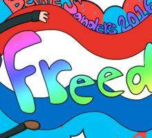 Bernie Sanders = FREEDOM Sticker