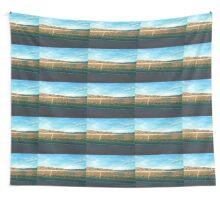 Blue Sky Desert Highway Wall Tapestry