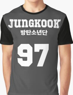 BTS - Jungkook Jersey Style Graphic T-Shirt