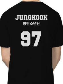 BTS - Jungkook Jersey Style Classic T-Shirt