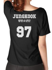 BTS - Jungkook Jersey Style Women's Relaxed Fit T-Shirt