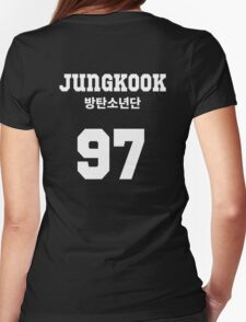BTS - Jungkook Jersey Style Womens Fitted T-Shirt