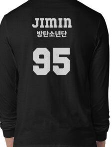 BTS - Jimin Jersey Style Long Sleeve T-Shirt