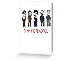 Penny Dreadful Family Greeting Card