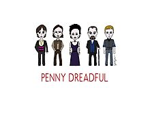 Penny Dreadful Family Photographic Print