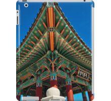 Korean friendship bell iPad Case/Skin