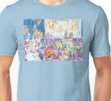 At the William Blake and Rumi Lecture Unisex T-Shirt