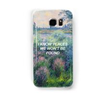 I Know Places: Monet Samsung Galaxy Case/Skin