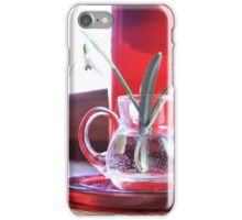 Red Decoration - Macro Photography iPhone Case/Skin