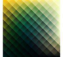 Rhombus Pattern Photographic Print