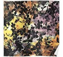 Deep love of flowers modern abstract painting art design Poster