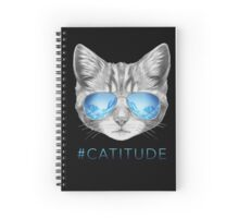 Catitude Spiral Notebook