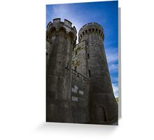 Penrhyn Castle- Two towers Greeting Card