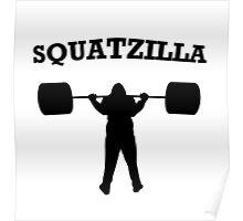 Squatzilla Poster