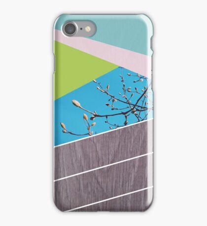 Geometric, nature iPhone Case/Skin