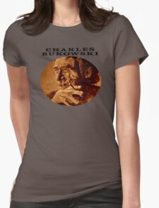 Charles Bukowski - love version Womens Fitted T-Shirt