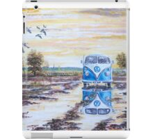 Volkswagen camper / After the rain. iPad Case/Skin