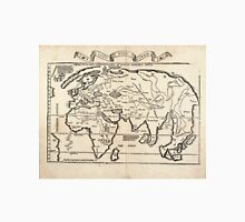 Vintage Map of The World (1522) Unisex T-Shirt