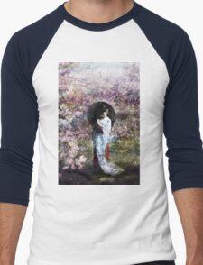 geisha  Men's Baseball ¾ T-Shirt