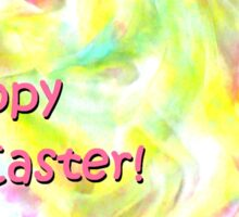 """Easter card """"Spring is in the Air"""" Sticker"""