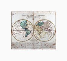 Vintage Map of The World (1760) Unisex T-Shirt