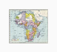Vintage Map of Africa (1897) Unisex T-Shirt