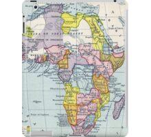 Vintage Map of Africa (1897) iPad Case/Skin