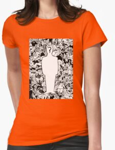 identity crisis Womens Fitted T-Shirt