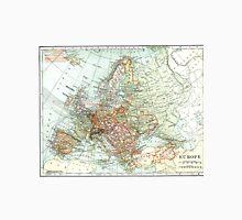 Vintage Map of Europe (1920) Unisex T-Shirt