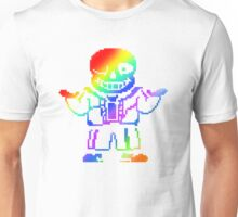 under tale color Unisex T-Shirt