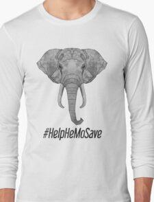#HelpHemoSave Long Sleeve T-Shirt