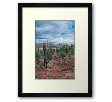 Sedona Sky Framed Print