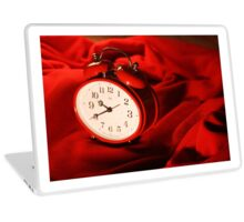 Red Alarm Clock 4 - Macro Photograpy Laptop Skin