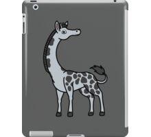 Silver Giraffe with Black Spots iPad Case/Skin