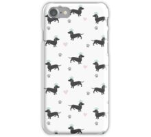 The Royal Dachshund iPhone Case/Skin