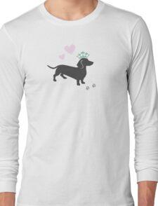 The Royal Dachshund Long Sleeve T-Shirt