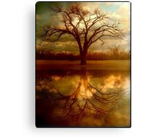 "A Place To ""Reflect"" Canvas Print"