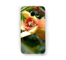 Pomegranate flower Samsung Galaxy Case/Skin