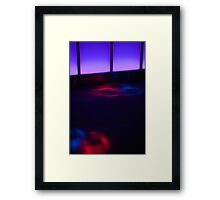 Abstract club lights Framed Print