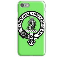 The MacGregor Clan symobol print iPhone Case/Skin